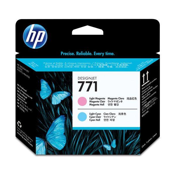 【送料無料】(まとめ) HP771 プリントヘッド ライトマゼンタ/ライトシアン CE019A 1個 〔×3セット〕【代引不可】