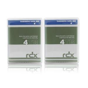 【送料無料】Tandberg Data RDX 4TB カートリッジ 2個パック【代引不可】, ホームステイのおみやげ専門店 d1f30579