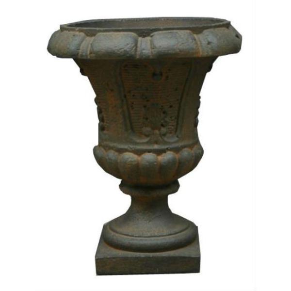 【送料無料】ファイバー製軽量植木鉢 バッセル サルダラ ラスティ 46cm /植木鉢【代引不可】