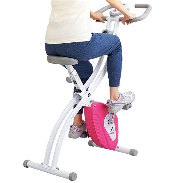【送料無料】アルインコ健康クロスバイク(フィットネスバイク/運動器具) 幅46cm×奥行91cm【代引不可】