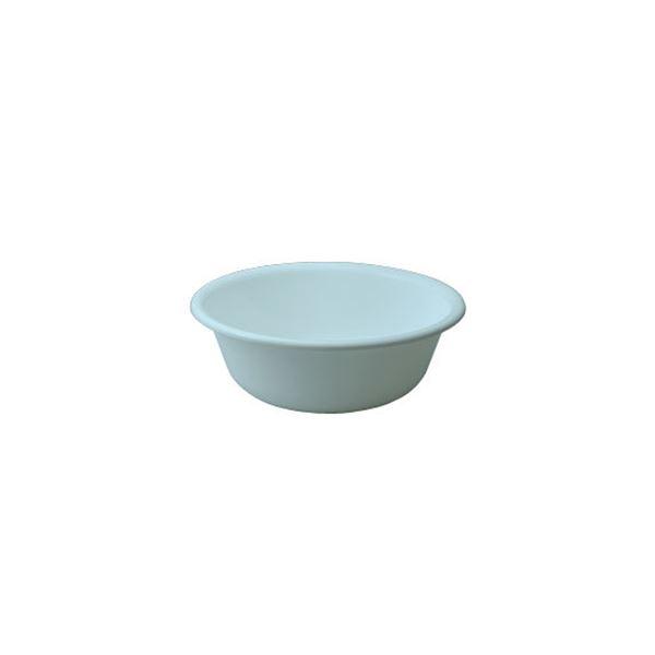 〔50セット〕 シンプル 風呂桶/湯桶 〔ブルー〕 27×9.5cm 材質:PP 『HOME&HOME』【代引不可】【北海道・沖縄・離島配送不可】