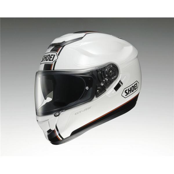 【送料無料】フルフェイスヘルメット GT-Air WANDERER TC-6 ホワイト/シルバー L 〔バイク用品〕【代引不可】