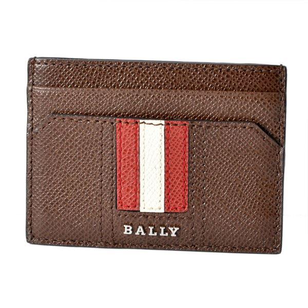 【送料無料】BALLY(バリー ) THAR.LT 11 6218032 バリーストライプ カードケース 名刺入れ【代引不可】