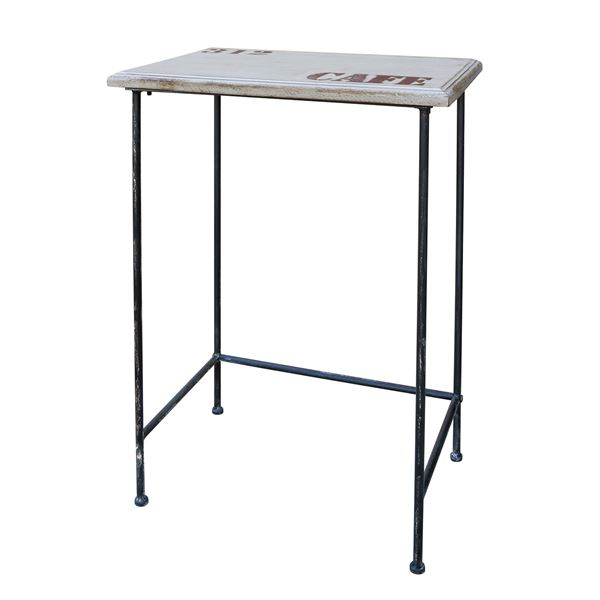 カルナック(CARNAC) アンティーク調 アンティーコサイドテーブル01 PJ011【代引不可】