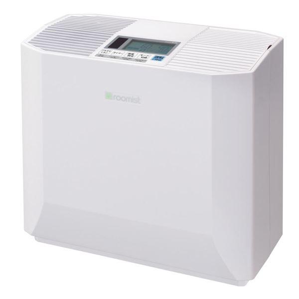 【送料無料】三菱重工 ハイブリッド加湿器roomist(ルーミスト) クリアホワイト SHK70NR-W【代引不可】