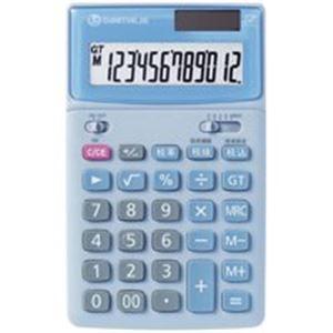 【送料無料】(業務用5セット) ジョインテックス 中型電卓 5台 ブルー K041J-5【代引不可】