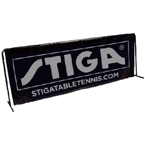 【送料無料】STIGA(スティガ) 卓球フェンス SURROUND サラウンドフェンス&フェンスカバー ブラック 【代引不可】