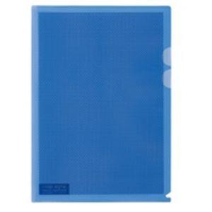 【送料無料】(業務用5セット) プラス カモフラージュホルダー A4 青 100冊【代引不可】