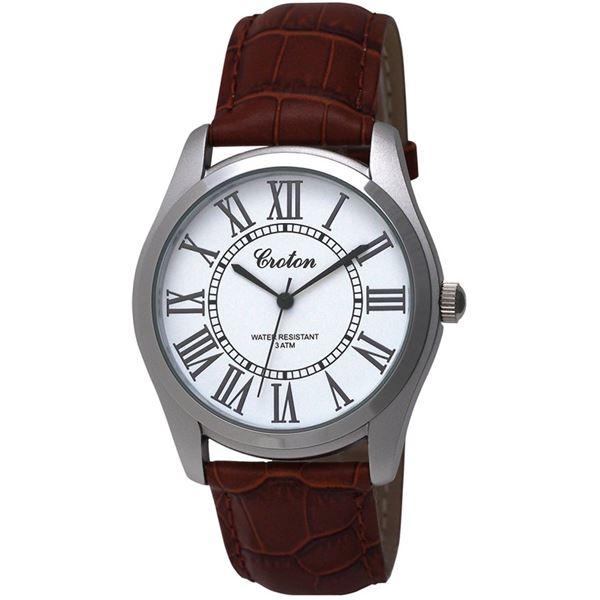 CROTON(クロトン)  腕時計 3針 日本製 RT-166M-D【代引不可】
