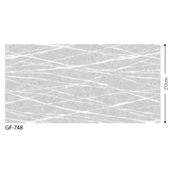 【送料無料】和調柄 飛散防止ガラスフィルム サンゲツ GF-748 92cm巾 3m巻【代引不可】