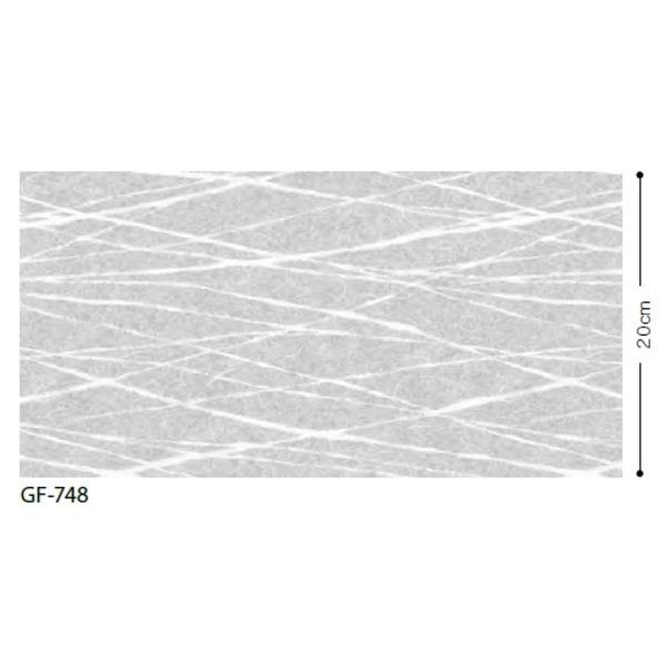 【送料無料】和調柄 飛散防止ガラスフィルム サンゲツ GF-748 92cm巾 6m巻【代引不可】