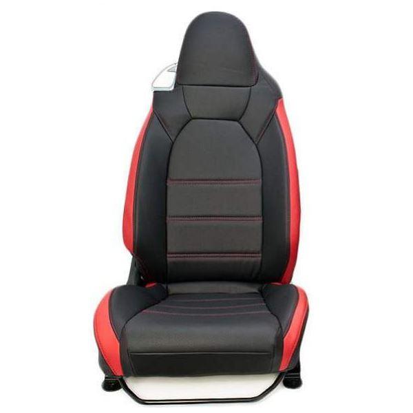 【送料無料】コペン LA400K G'BASE シートカバー カラー:ブラック×レッド シルクロード GSC-001【代引不可】