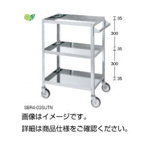 【送料無料】ステンレススペシャルワゴンSBR4-03SUTN【代引不可】