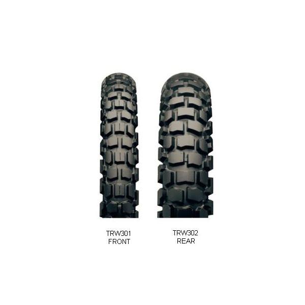 ブリヂストン タイヤ MCS09517 TW301 3.00-21 W 〔バイク用品〕【代引不可】
