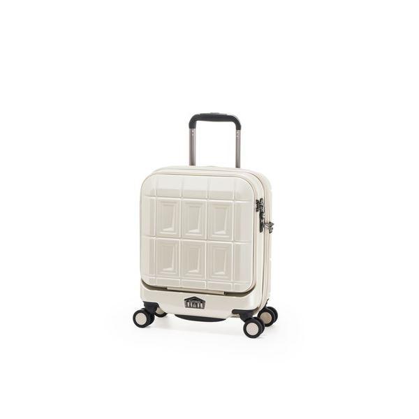 スーツケース 〔パールホワイト〕 21L コインロッカー可 機内持ち込み可 アジア・ラゲージ 『PANTHEON』 【代引不可】