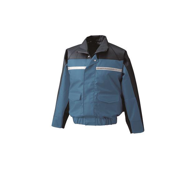 【送料無料】ナダレス空調服ブルゾン リチウムバッテリーセット BR-500NC04S7 ブルー 5L【代引不可】