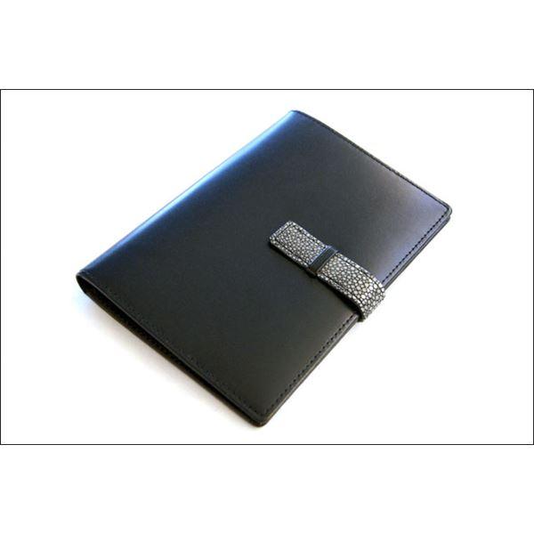 Colore Borsa(コローレボルサ) パスポートケース ブラック MG-005【代引不可】【北海道・沖縄・離島配送不可】