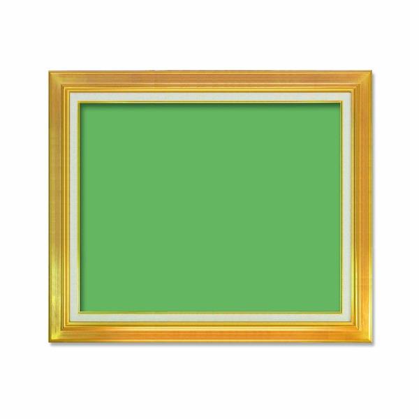 【送料無料】〔油額〕油絵額・キャンバス額・金の油絵額・銀の油絵額 ■P20号(727×530mm)「ゴールド」【代引不可】