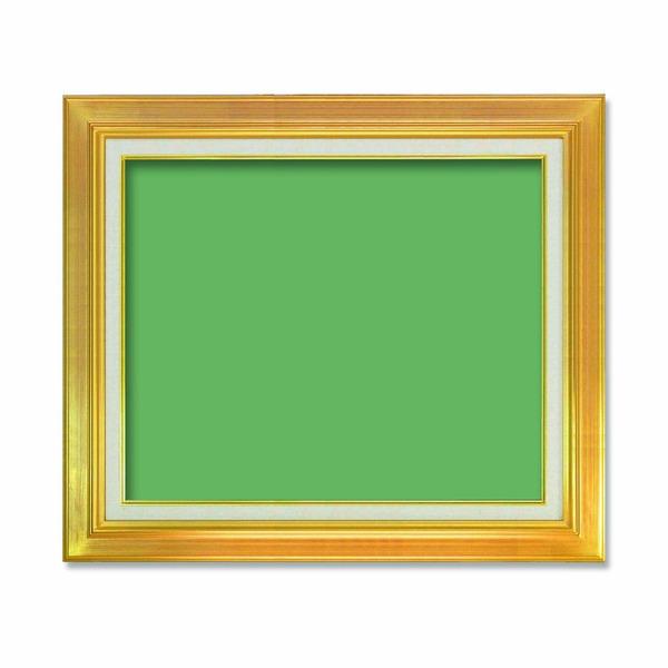 【送料無料】〔油額〕油絵額・キャンバス額・金の油絵額・銀の油絵額 ■M10号(530×333mm)「ゴールド」【代引不可】