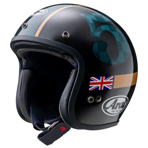 【送料無料】アライ(ARAI) AXYヘルメット CLASSIC MOD UNION Sサイズ【代引不可】