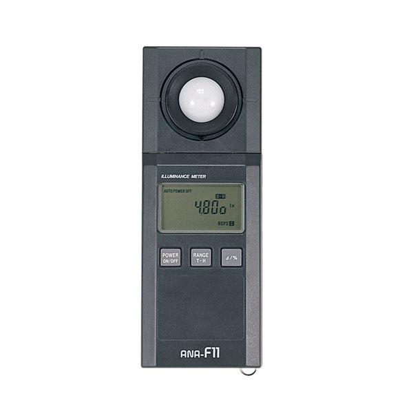 【送料無料】〔柴田科学〕デジタル照度計 ANA-F11型【代引不可】