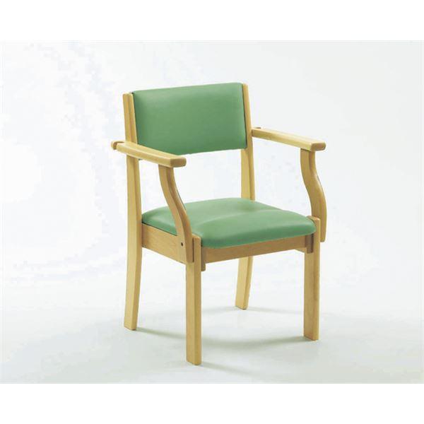 【送料無料】ピジョン 椅子 ミールチェアML11 座面高38cmライトグリーン 201910BF【代引不可】