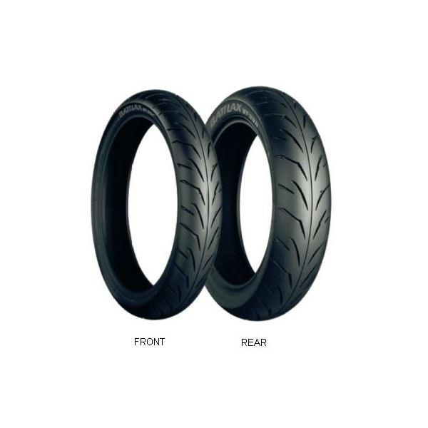 【送料無料】ブリヂストン タイヤ MCS07806 BT39 110/70-17 TL 〔バイク用品〕【代引不可】