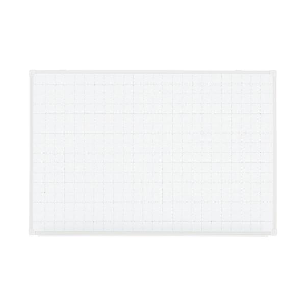 【送料無料】プラス 壁掛ホワイトボード暗線ドットVSK-0906SSWG【代引不可】