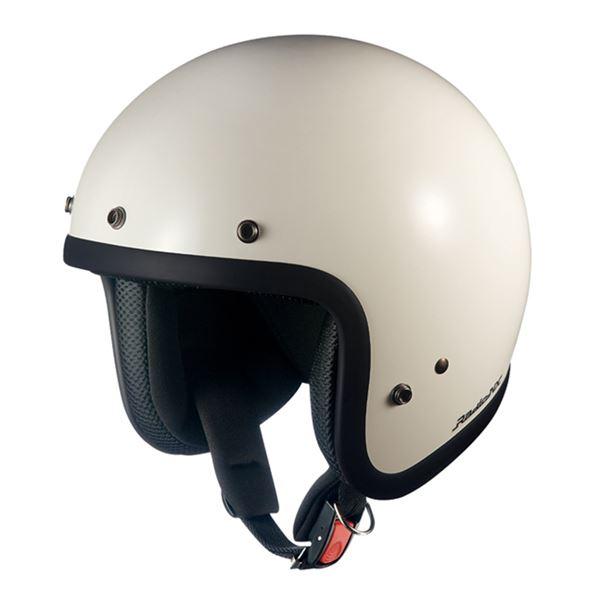 【送料無料】ジェットヘルメット RADIC NX オフホワイト 〔バイク用品〕【代引不可】