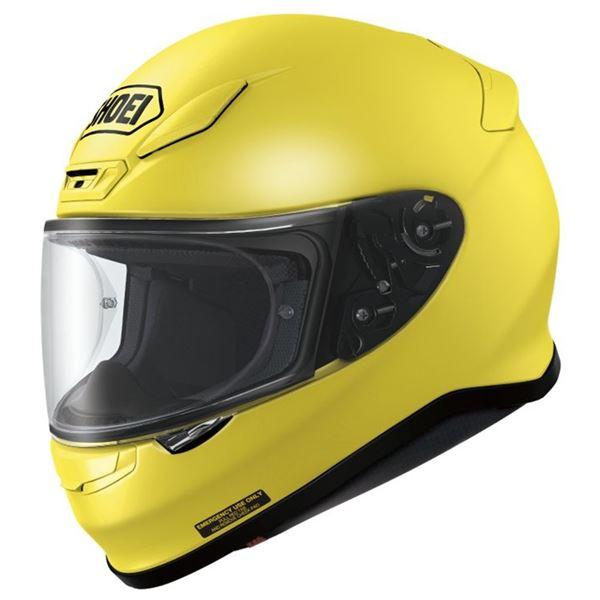 【送料無料】フルフェイスヘルメット Z-7 ブリリアントイエロー L 〔バイク用品〕【代引不可】
