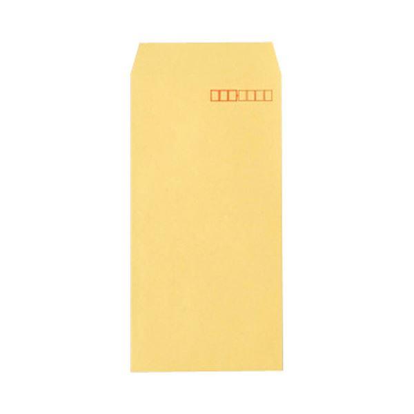 TANOSEE R40クラフト封筒 長3 70g/m2 〒枠あり 業務用パック 1箱(1000枚) 〔×10セット〕【代引不可】