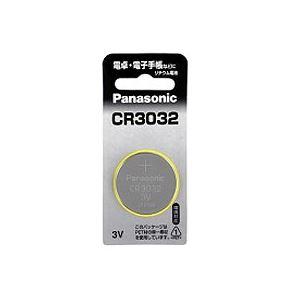 (まとめ) パナソニック コイン形リチウム電池CR3032 1個 〔×30セット〕【代引不可】【北海道・沖縄・離島配送不可】