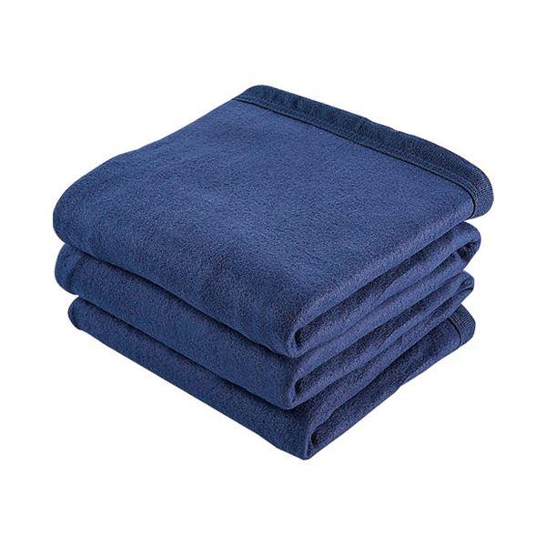 (まとめ) 角利産業 備蓄用毛布コンパクト 9988〔×5セット〕【代引不可】