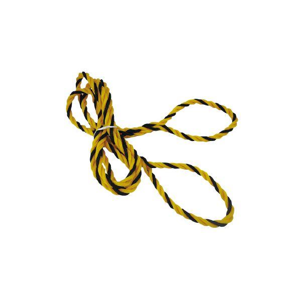 (まとめ)丸三産業 カラーコーンロープ CR-2M 12mm×2m〔×50セット〕【代引不可】【北海道・沖縄・離島配送不可】