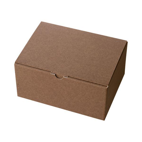 (まとめ) ヘッズ 無地ブラウンギフトボックス W223×D170×H110mm MBR-GB3 1パック(10枚) 〔×10セット〕【代引不可】【北海道・沖縄・離島配送不可】