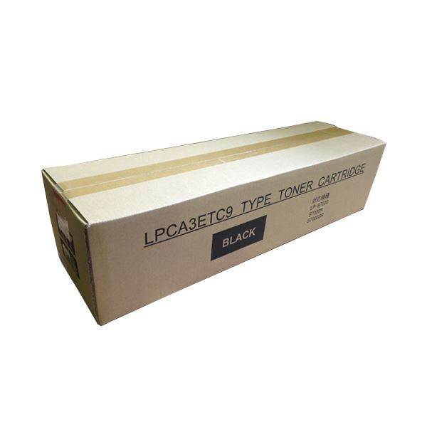 【送料無料】トナーカートリッジ LPCA3ETC9K汎用品 ブラック 1個【代引不可】