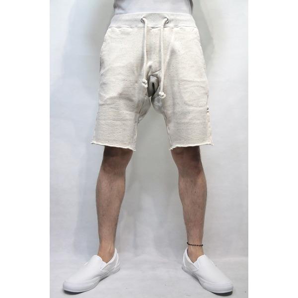 SEVESKIG スウェットショーツ OFF WHITE Mサイズ【代引不可】【北海道・沖縄・離島配送不可】