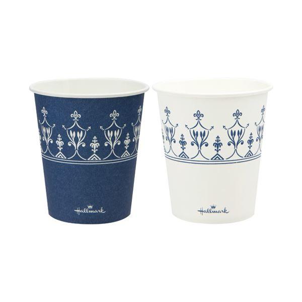 100個*25【代引不可】【北海道・沖縄・離島配送不可】 HMクラシックブルーカップ205ml サンナップ