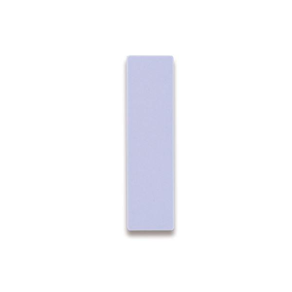 (まとめ) ライオン事務器 人名プレート裏面マグネット付 W22×H82×D5mm 紫 No.10 1パック(10枚) 〔×10セット〕【代引不可】【北海道・沖縄・離島配送不可】