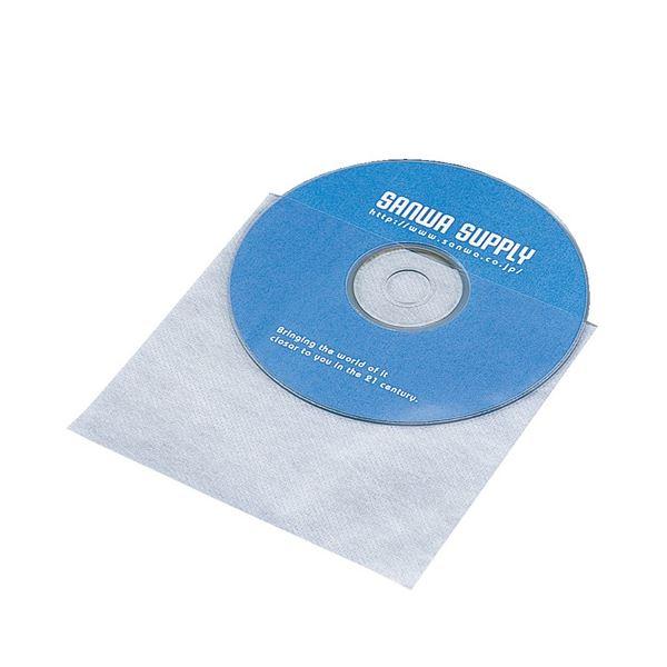 (まとめ) サンワサプライCD・CD-R用不織布ケース FCD-F50 1パック(50枚) 〔×30セット〕【代引不可】【北海道・沖縄・離島配送不可】