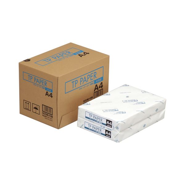 (まとめ)NBSリコー TP PAPER A4901221 1箱(2500枚:500枚×5冊) 〔×3セット〕【代引不可】【北海道・沖縄・離島配送不可】