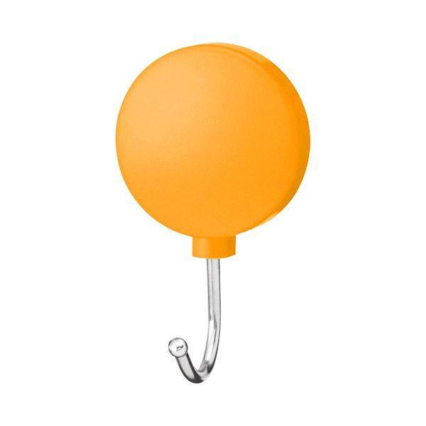 (まとめ) ミツヤ プラマグネットフック スイング式耐荷重約1kg 橙 PMHRS-OR 1個 〔×100セット〕【代引不可】【北海道・沖縄・離島配送不可】