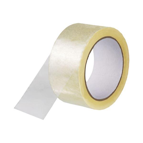 (まとめ) スマートバリュー 透明梱包用テープ中・重梱包用 1巻 B690J〔×50セット〕【代引不可】【北海道・沖縄・離島配送不可】