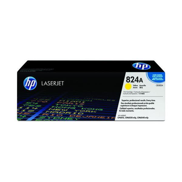 HP プリントカートリッジ イエローCB382A 1個【代引不可】【北海道・沖縄・離島配送不可】
