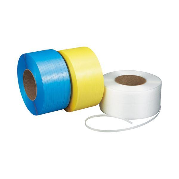 (まとめ)積水樹脂 Jバンド PP15.5X2500J-S1-K1 Y 黄色〔×5セット〕【代引不可】【北海道・沖縄・離島配送不可】