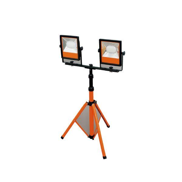 (まとめ)アイリスオーヤマ LEDスタンドライト 10000lm LWT-10000ST〔×5セット〕【代引不可】【北海道・沖縄・離島配送不可】