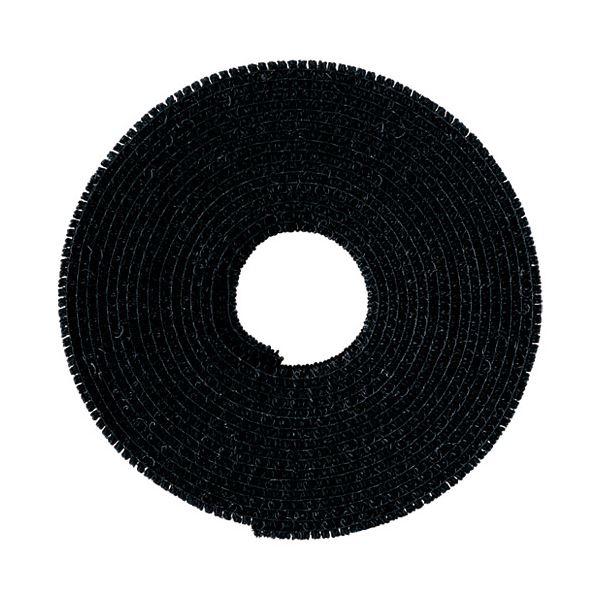 (まとめ)クラレトレーディング マジックバンドCP-09 黒〔×5セット〕【代引不可】【北海道・沖縄・離島配送不可】