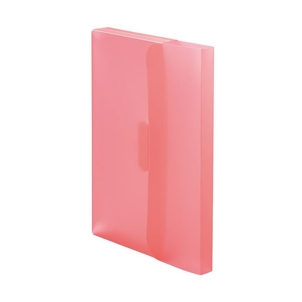 (まとめ) TANOSEE PP製ケースファイルA4 背幅23mm ピンク 1パック(3冊) 〔×30セット〕【代引不可】【北海道・沖縄・離島配送不可】