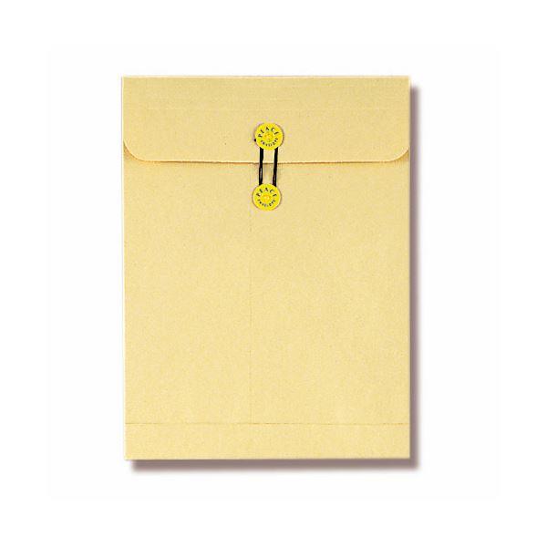 (まとめ) ピース マチ・ヒモ付保存袋 クラフト角2 120g 168-30 1セット(50枚:10枚×5パック) 〔×5セット〕【代引不可】