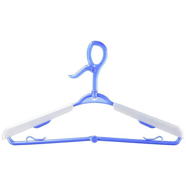 (まとめ)洗濯ハンガー スライド ハンガー 3本組 (洗濯物干し グリップハンガー) 〔32個セット〕【代引不可】【北海道・沖縄・離島配送不可】